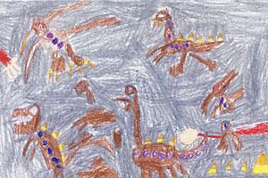 dinosaur essay contest winner